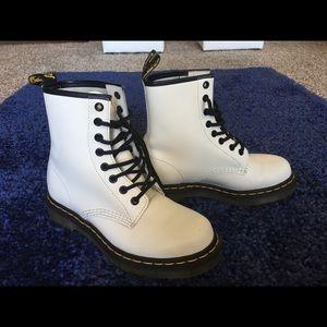 White Dr Martens Size 6